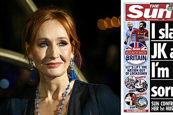 The Sun kritiseres etter sak om JK Rowlings voldelige eksmann