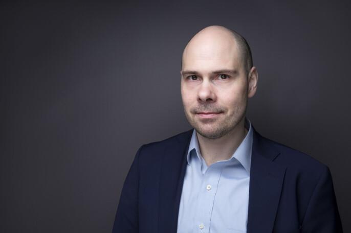 Konserndirektør Anders Opdhal i Amedia.