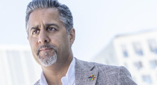 Raja vil ikke blande seg inn i TV-konflikten