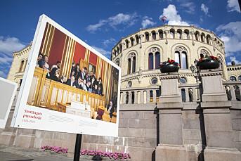 Stortingets presselosje feirer 100 år