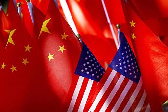 Kina reagerer på USAs medie-restriksjoner