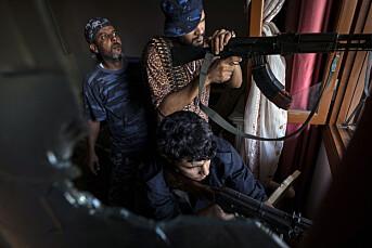 Tyrkiske journalister for retten etter Libya-dekning