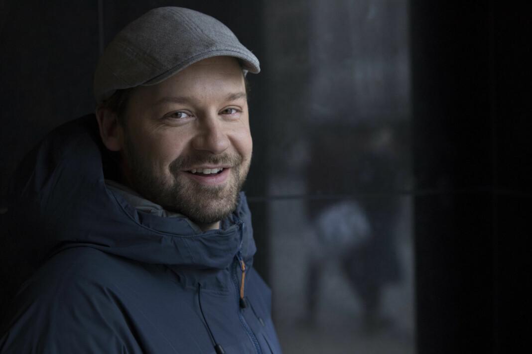 Petter Nyquist, mannen bak TV-serien «Petter Uteligger» da han ga ut bok sammen med forfatter Eivind Hofstad Evjemo, med tittelen «Petter uteligger – En fortelling fra gata».