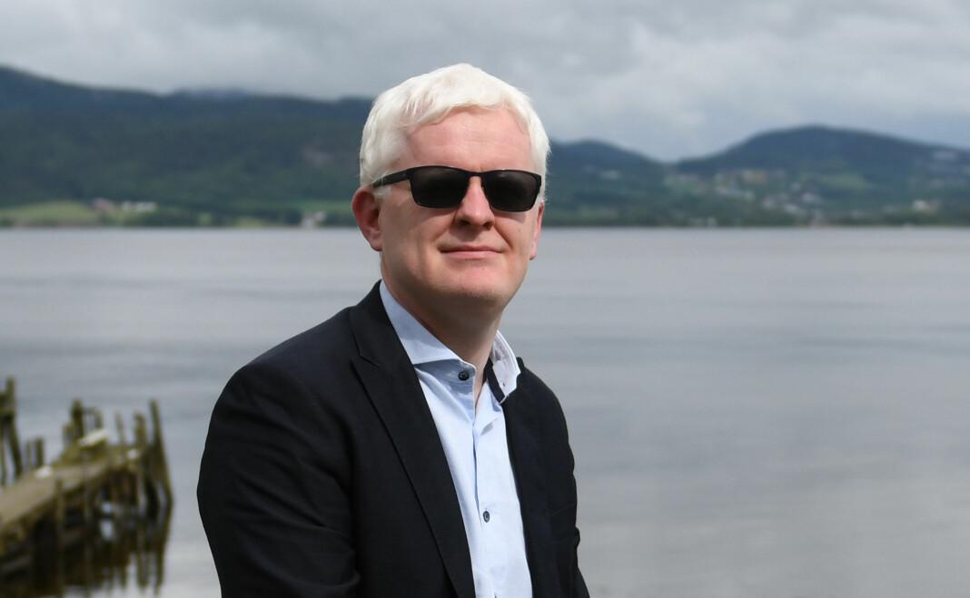 Nestleder Dag Idar Tryggestad i Norsk Journalistlag. I dag skal landsstyret diskutere forslaget om å endre navn og medlemskriterier.