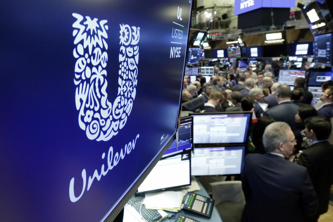 Unilever er notert på New York Stock Exchange.