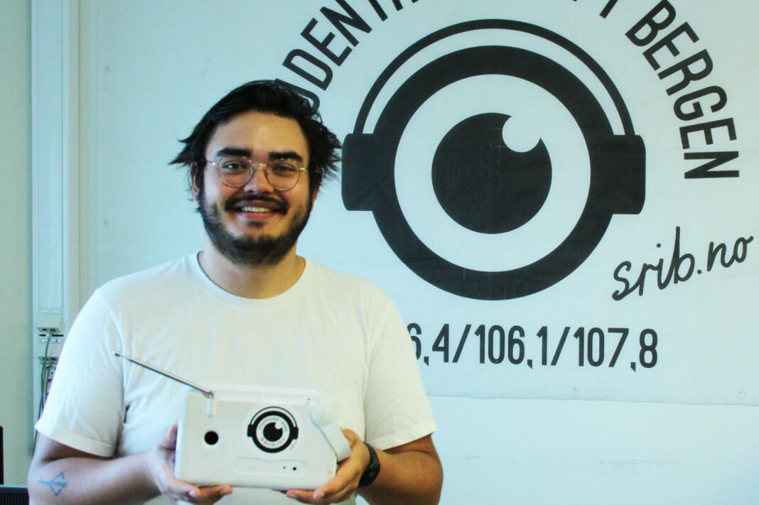 Michael Fabregas Breien er ny ansvarlig redaktør for Norges største studentradio.