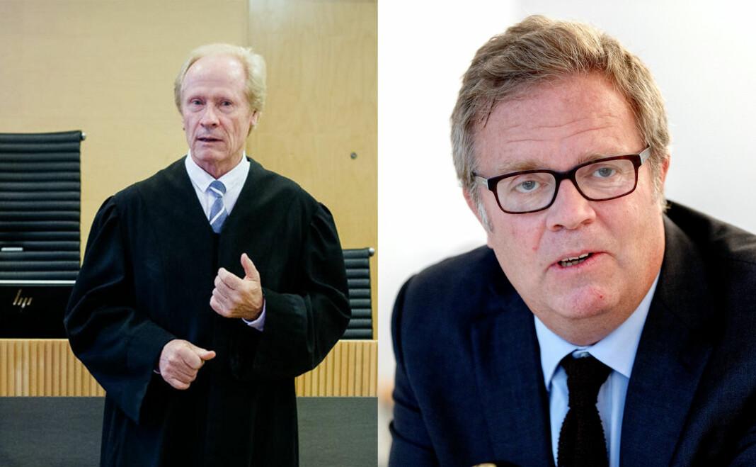 Per Danielsen representerte saksøker, mens Jon Wessel-Aas var Dagbladets advokat.