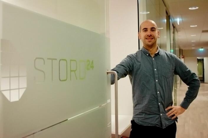 Jonas Sætre flytta hjem til Stord og var med på å skape sin egen arbeidsplass med Stord24 i 2017.