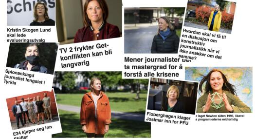 Like under 40 prosent kvinnelige kilder på Journalisten: – Ikke bra nok