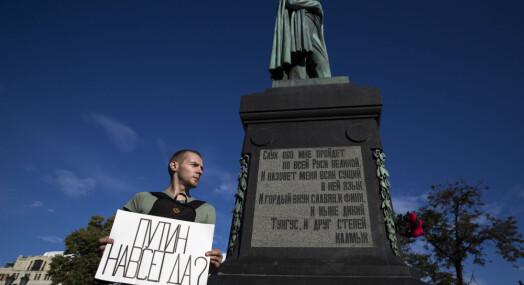 EU ber Russland etterforske politivold mot journalister