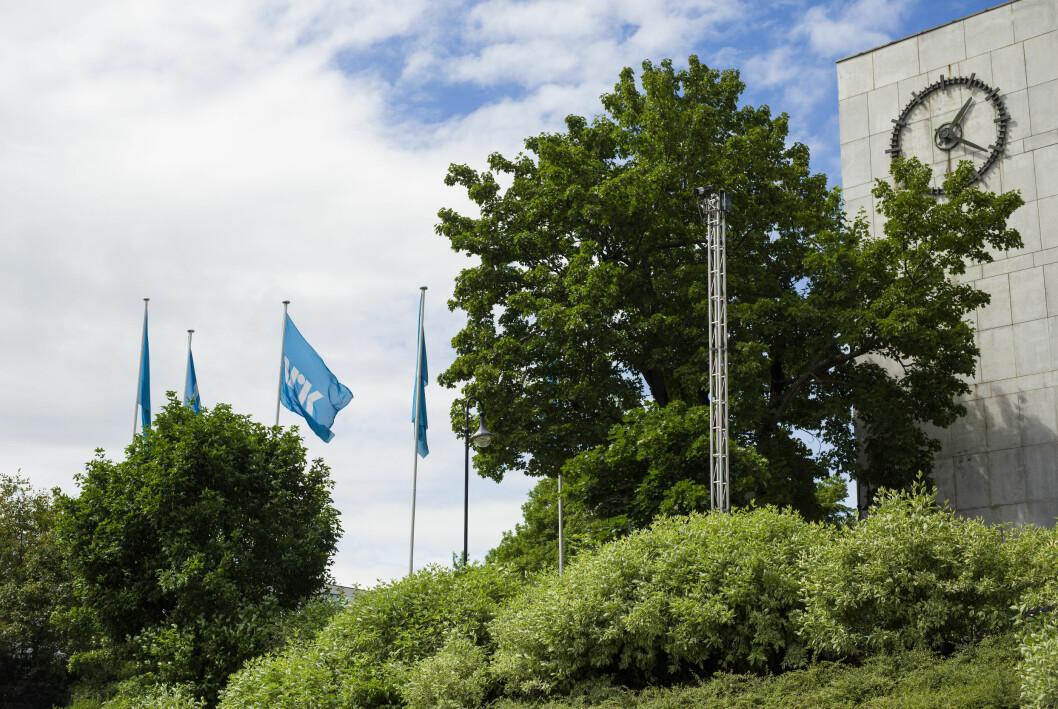 I likhet med året før gikk NRK med underskudd i fjor.
