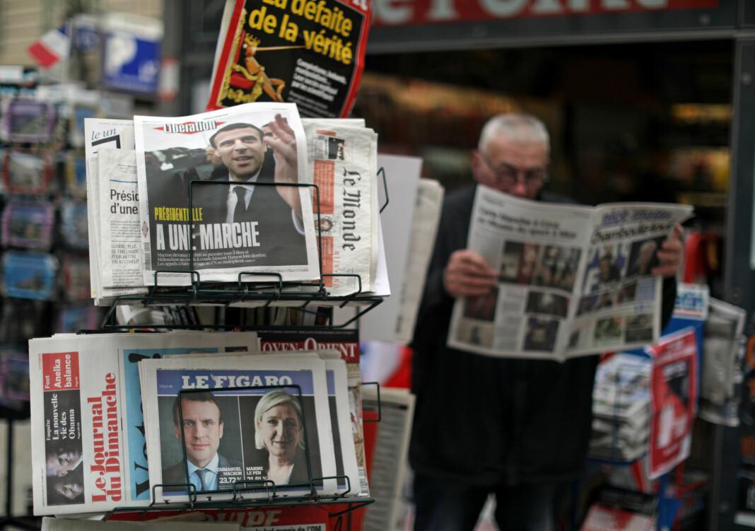 Frankrike vil hjelpe franske aviser i koronakrisa, ved å gi skattefordeler til nye abonnenter.