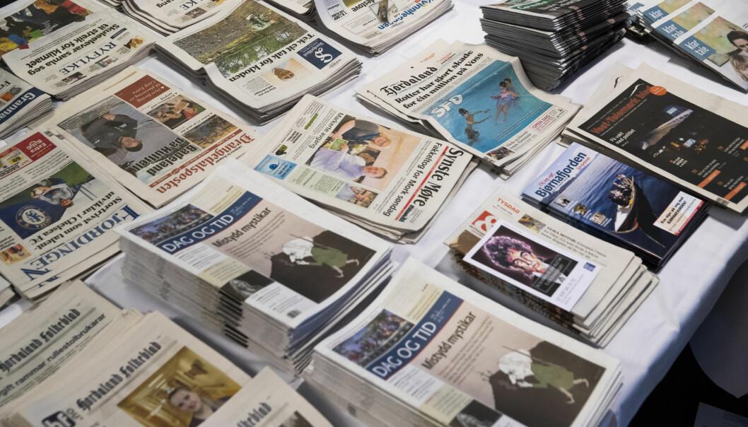 Krisepakken til norske mediebedrifter har fått godkjentstempel av ESA.