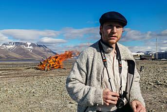 David Engmo er sommervikar i verdens nordligste redaksjon