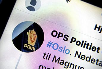 Twitter-trøbbel for Oslo-politiet