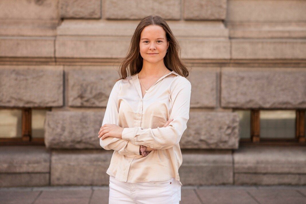 22 år gamle Ingvild Fylling har fått fast jobb som journalist i Medier24.