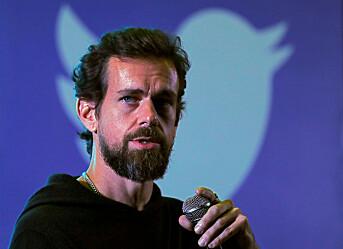 Twitter kalt inn på teppet i Senatet
