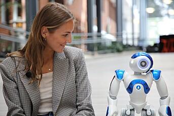 Louise intervjua en robot mata med hennes 13 år gamle Facebook-data: – Den sa utrolig mye dritt