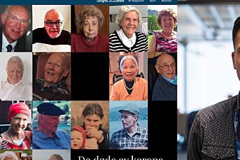 BT lagde miniportretter av dem som døde av korona
