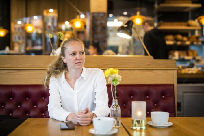 Margrethe Håland Solheim husket ikke alle intervjuene hun gjorde dagen etter 22. juli. Hun fikk mye ut av å snakke med kollegaer i tida etterpå.