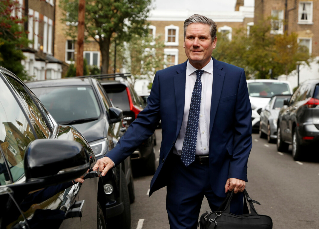 Det britiske arbeiderpartiet, Labour Party, erkjenner å ha kommet m ed krenkende og uriktige anklager mot journalist, Her nåværende partileder Sir Keir Starmer.