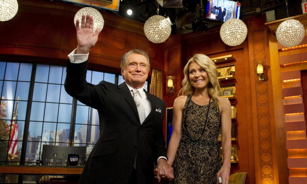Talkshow-legenden Regis Philbin er død