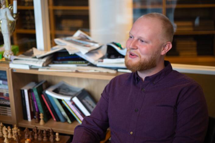 Debattansvarlig i Morgenbladet Markus Slettholm mener redaktører bør rekruttere et mangfold av journalister.