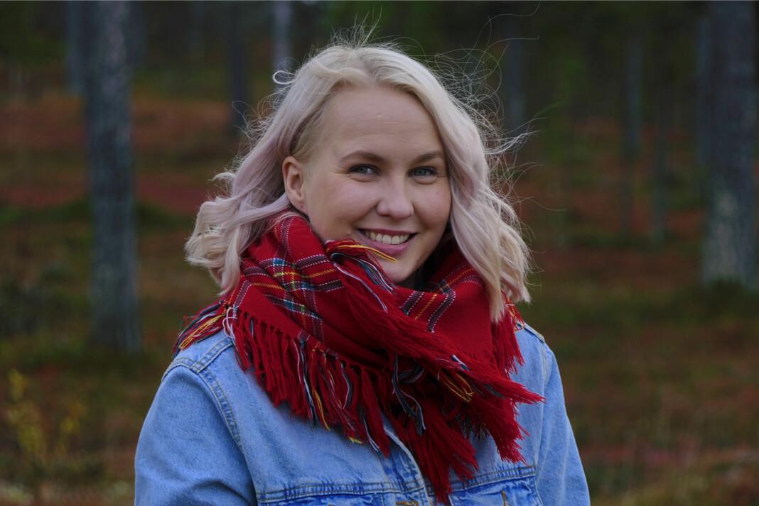 Digital utviklingsleder i NRK Sápmi, Ánne Márjá Hætta.