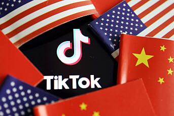 Kina anklager USA for Tiktok-tyveri