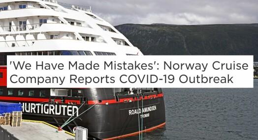 Store oppslag i utlandet om Hurtigruten-situasjonen