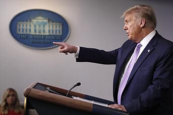 Twitter nektet Trump-kampanjen å tvitre fram til korona-innlegg ble fjernet