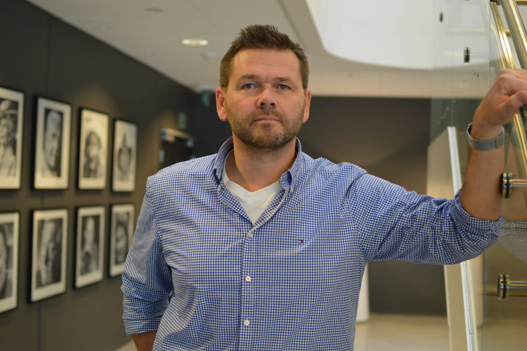 Jonas Jørstad leder den felles kjendisdesken i Dagbladet og Se og Hør.
