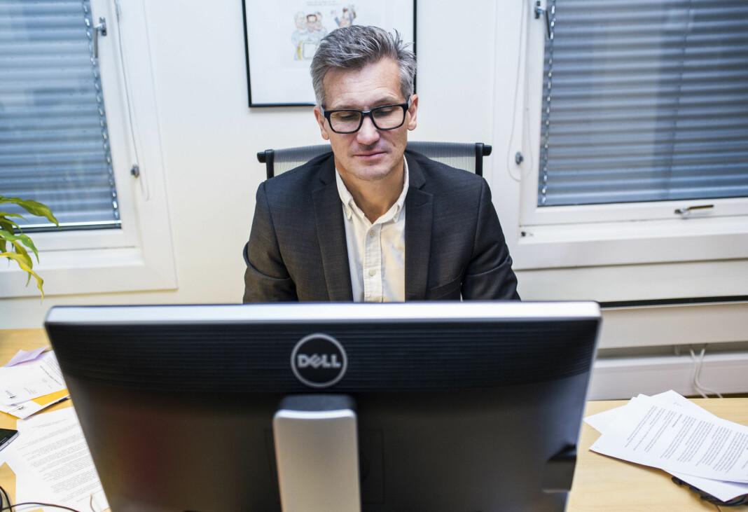 Direktør Bjørn Erik Thon i Datatilsynet er bekymret for utviklingen på personvernfeltet.