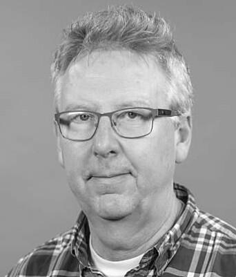 Instituttleder Hans Marin Dypvik.