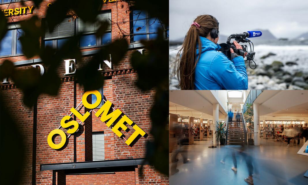 Det blir en annerledes høst for journalistikkstudentene på Oslo Met og Høgskulen i Vola.