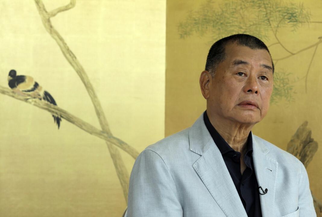 Medieeier Jimmy Lai ble pågrepet mandag 10. august og løslatt dagen etter mot kausjon. USAs president Donald Trump hyllet onsdag Lai og kalte ham en tapper mann.