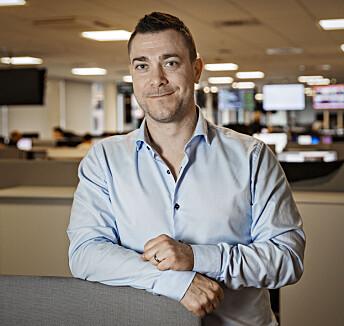 Jan Thomas Holmlund er ansatt som redaksjonssjef innhold i Dagbladet.