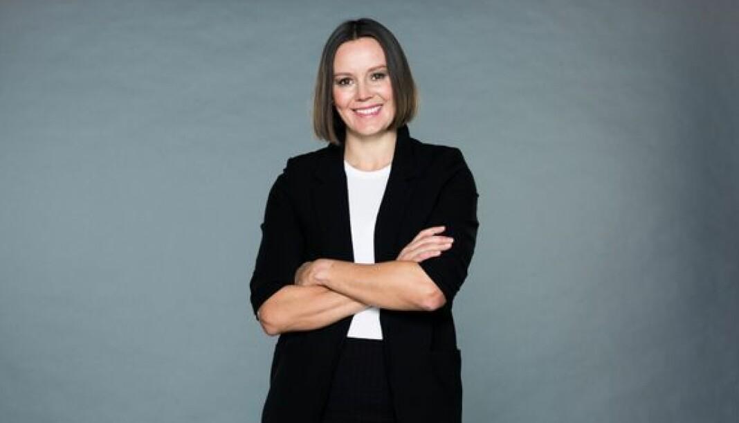 Administrerende direktør i Egmont Publishing Nina Vesterby presenterte fredag endringer i organisasjonen.