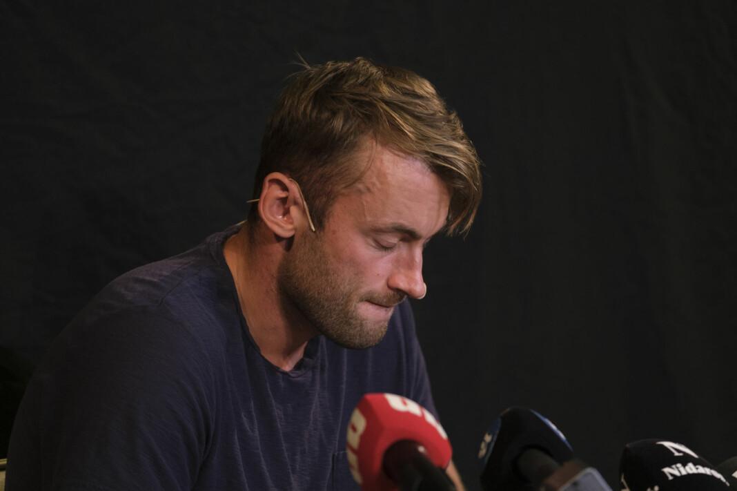 Et av spørsmålene Petter Northug fikk på pressekonferanse har fått skarp kritikk.