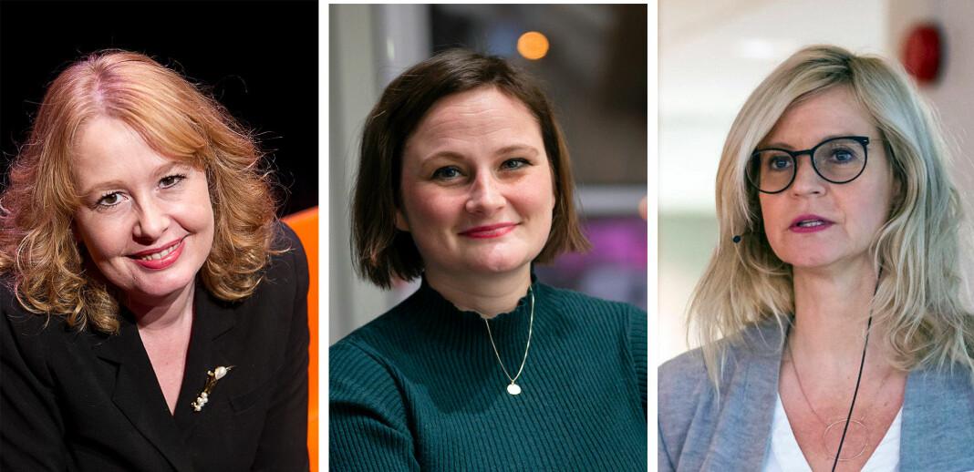 Åsa Linderborg, kulturjournalist i Aftonbladet, slakter svensk metoo-dekning. Maria Melgård (VG/DN) og Karianne Solbrække (TV 2) deler norske erfaringer.