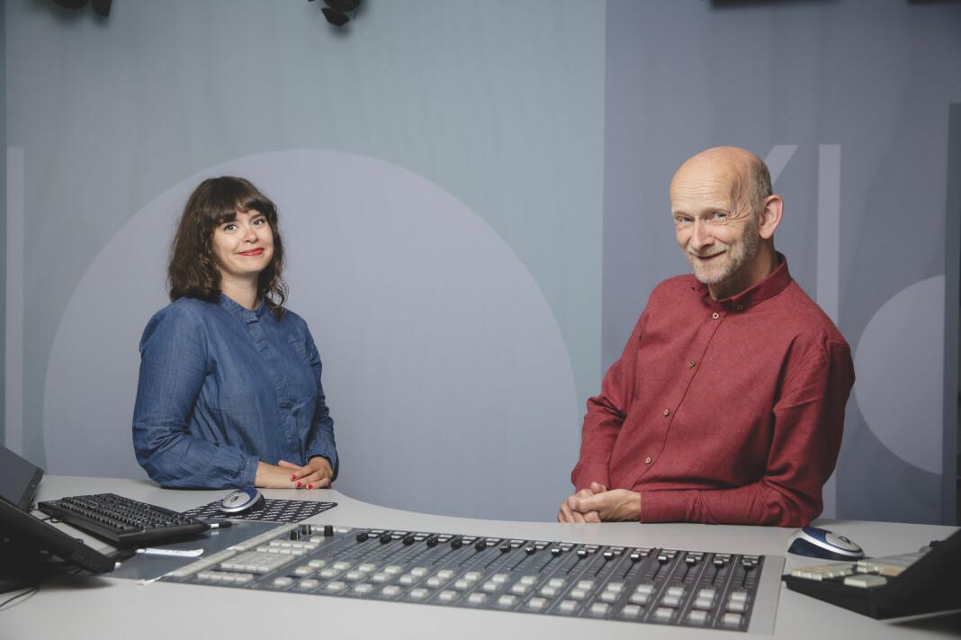 Sigrid Agnethe Hansen og Arne Egil Tønset leder NRKs nye aktualitetsprogram fra Tromsø.