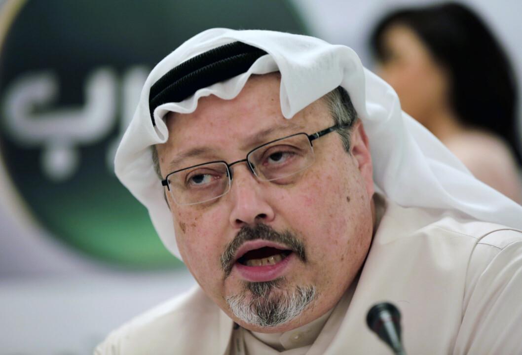 Jamal Khashoggi ble drept av en saudiarabisk dødsskvadron i 2018.