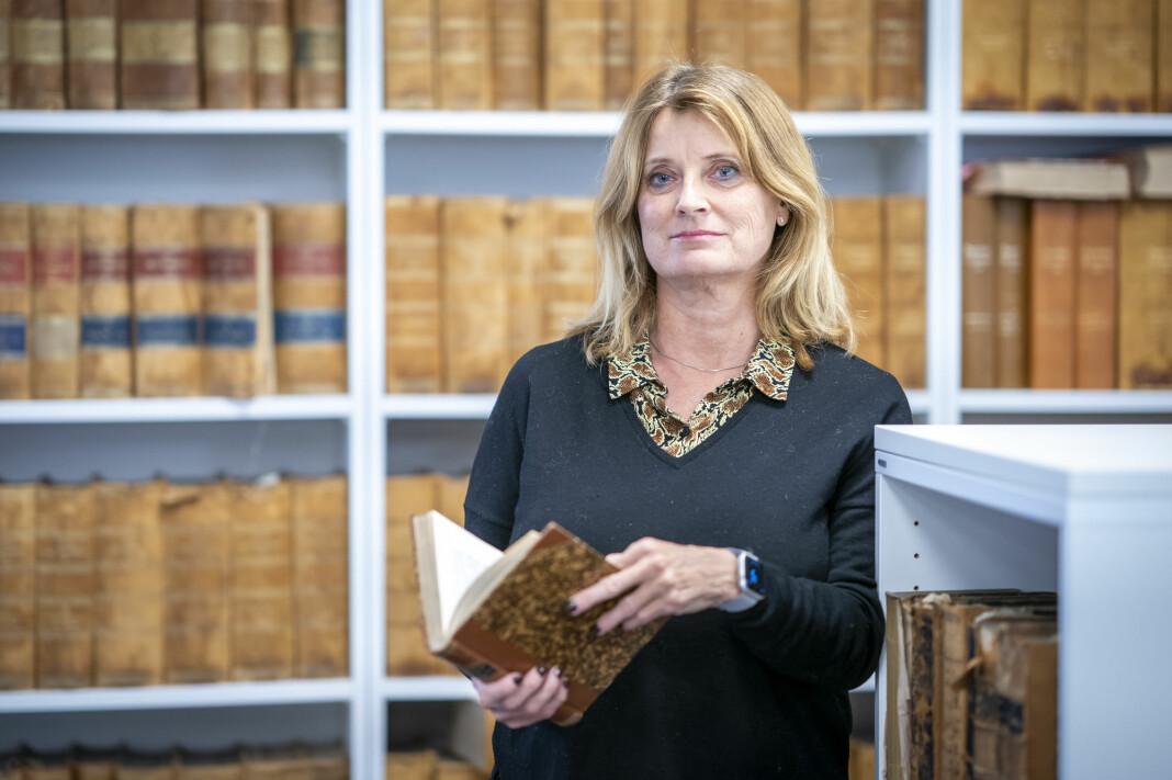 Sivilombudsmann Hanne Harlem på hennes kontor hos Kommuneadvokaten i Oslo.