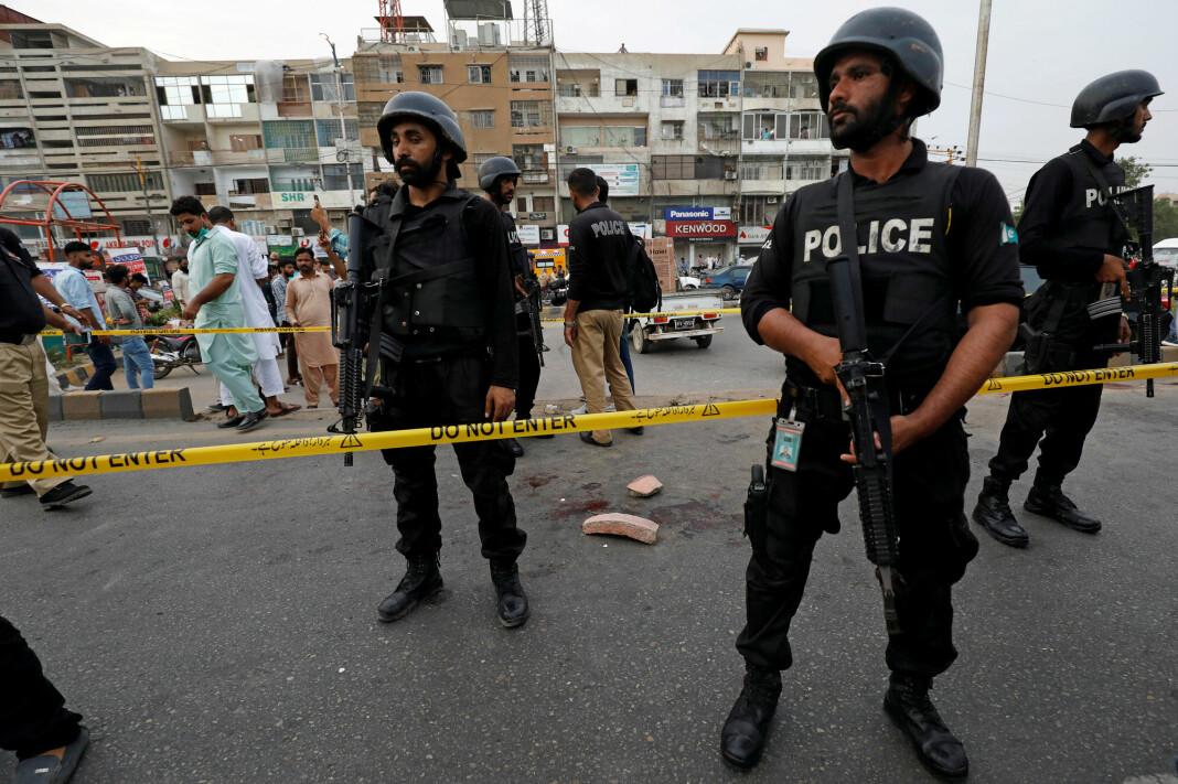 I fjor ble fire journalister og bloggere også drept i Pakistan. Ofte blir ikke vold mot journalister etterforsket.