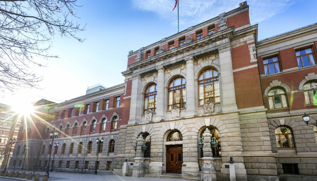 Norske dommere har svart på medieundersøkelse. Her fra Høyesteretts plass i Oslo. Foto: Gorm Kallestad / NTB scanpix