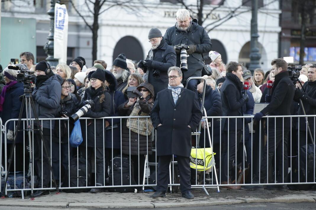 Assisterende kommunikasjonssjef ved Slottet, Sven Gjeruldsen, sier til Fædrelandsvennen at det ikke er vanlig at slike samtaler som kronprinsen har med folk, er åpne for media. Her fotografert ved en annen anledning.
