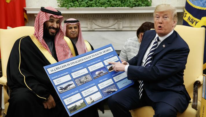 Woodward: Trump skrøt av å ha reddet Saudi-Arabias kronprins etter Khashoggi-drapet