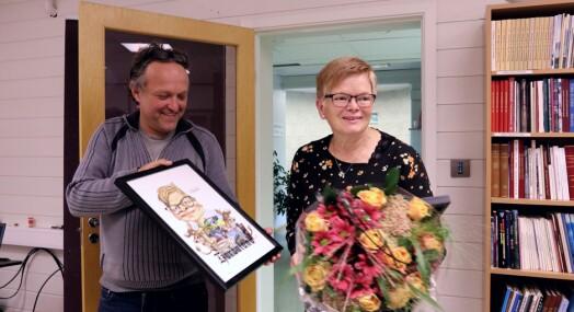 Bergen Journalistlags hederspris til Sigrid Seim