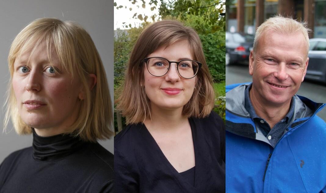 Elfi Leinan, Stine Lise Wannebo og Geir Olav Flåan har alle fått jobb i Trønder-Avisa.