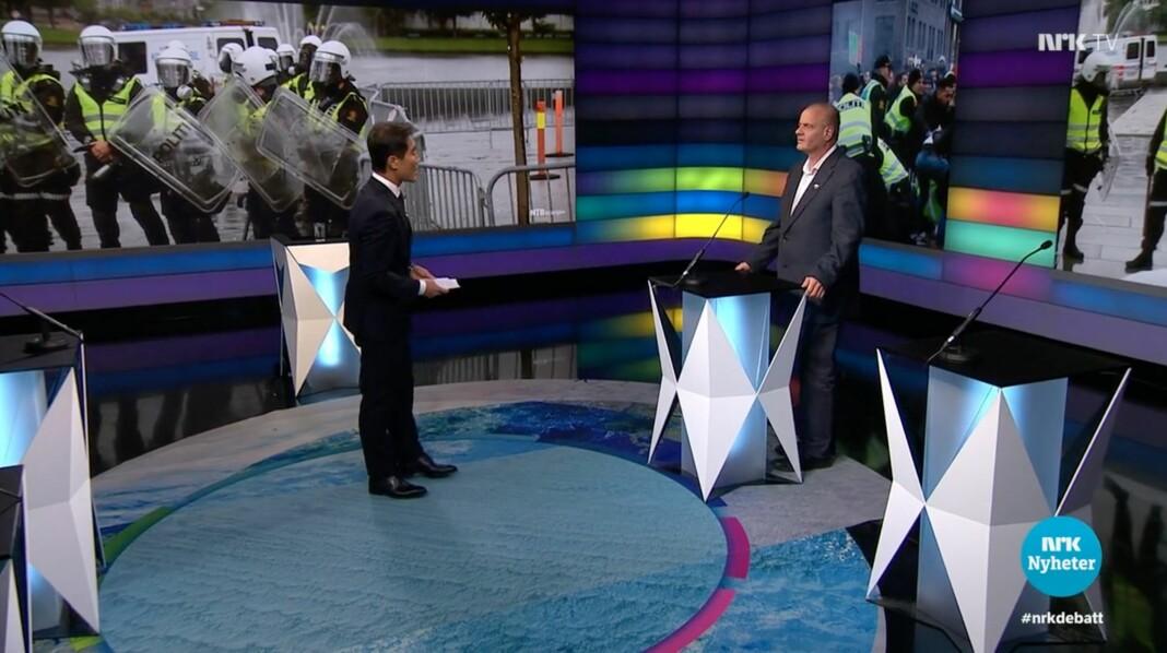 Kringkastingsrådet er delt i synet på om det var riktig å invitere Sian-leder Lars Thorsen til NRKs Debatten.